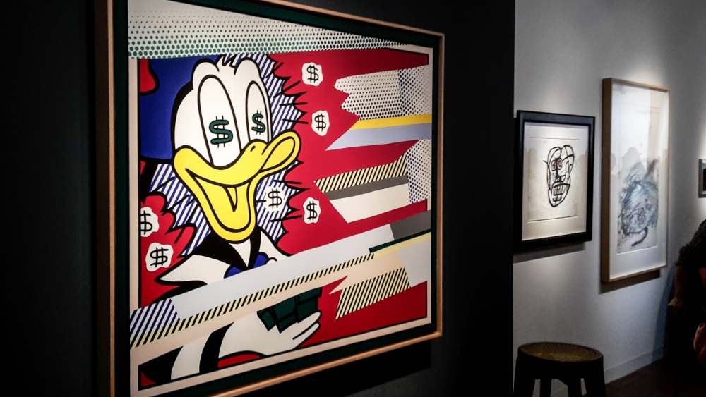 Art Basel 2016 Roy Lichtenstein Donald Duck