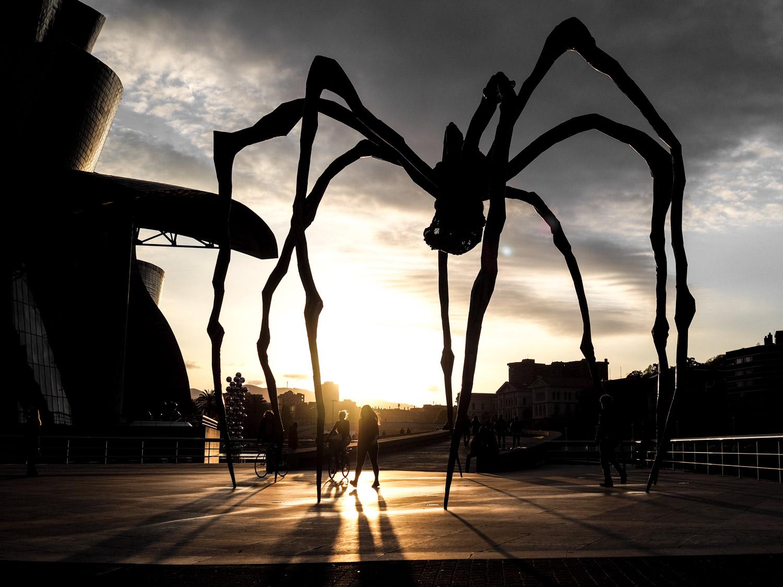 Bilbao Spinne